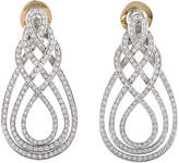 Damiani 18K 2.17 Ct. Tw. Diamond Earrings
