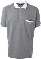 Fay chest pocket polo shirt