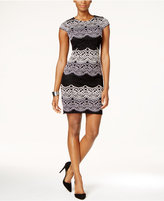 Sandra Darren Petite Lace Sheath Dress