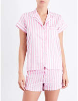 Bodas St Moritz cotton pyjama shirt