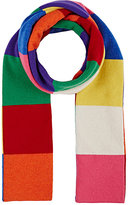 Barneys New York MEN'S COLORBLOCKED CASHMERE SCARF