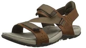 Merrell Men's Terrant Strap Sports Sandals, (Brown Sugar), 14 (48 EU)