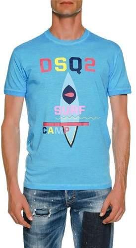 DSQUARED2 Surf Camp Cotton T-Shirt