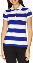 Nautica Short Sleeve Stripe Polo