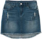 Calvin Klein Distressed Denim Skirt, Big Girls (7-16)