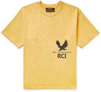 Reese Cooper Printed Cotton-Jersey T-Shirt