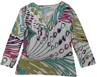 Emilio Pucci Green Cotton Top for Women