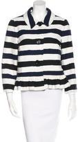 Kate Spade Striped Tweed Jacket