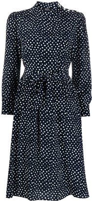 A.P.C. Silk Polka Dot Dress