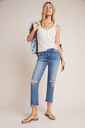 Mother The Insider High-Rise Bootcut Jeans By in Blue Size 28