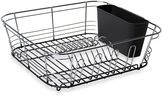 Bed Bath & Beyond Omni Small Chrome Dipped Dish Drainer in Grey