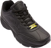Fila On The Job Mens Slip-Resistant Sneakers