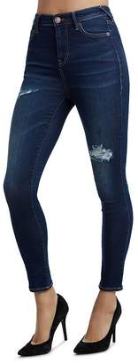 True Religion Caia Ultra High-Waisted Ankle Jeans