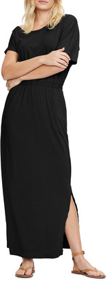 Michael Stars Chantel Asymmetrical Maxi Dress w/ Slit