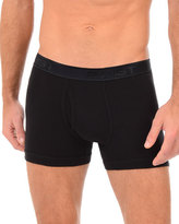2xist Pima Boxer Brief, Black
