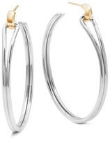 Shinola Women's Lug Hoop Earrings