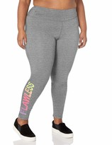 Fruit of the Loom Fit Womens Plus Size Active Mesh Zip Mock