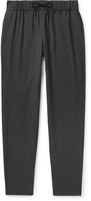 A.P.C. Kaplan Herringbone Cotton Drawstring Trousers