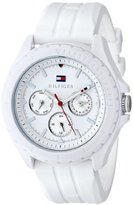 Tommy Hilfiger Women's 1781425 Resin Watch with White Band