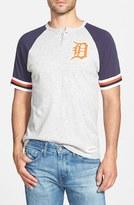 Mitchell & Ness Men's 'Detroit Tigers - Visiting' Raglan Henley