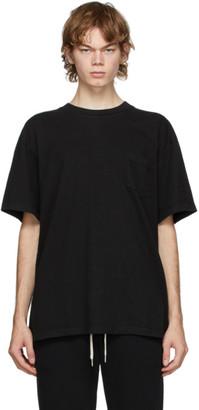 John Elliott Black Lucky Pocket T-Shirt
