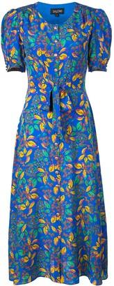 Saloni Floral Printed Tea Dress