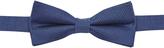 Oxford Bowtie Silk/Linen Blue