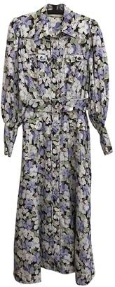 Zimmermann Purple Linen Dress for Women