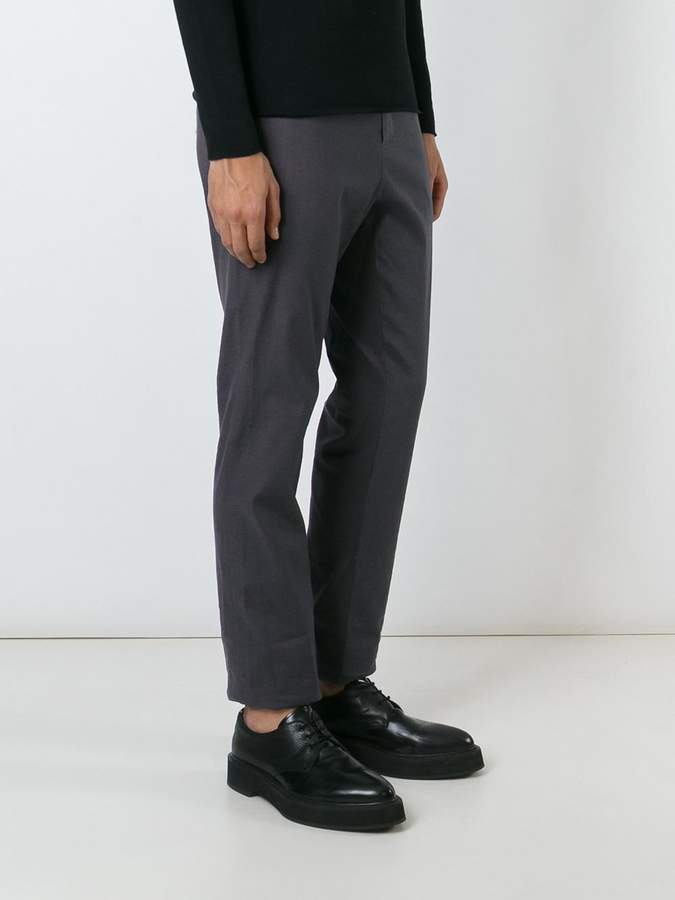 Kris Van Assche tapered drop crotch trousers
