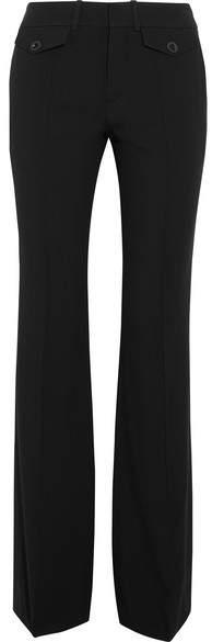 Chloé Wide Leg Cady Pants - Black
