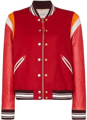 Golden Goose Scarlett varsity bomber jacket