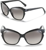 Dior Black Cat Eye Sunglasses