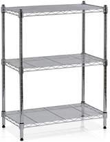 Furinno Chrome Wayar Three-Tier Shelf
