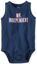 Carter's Mr. Independent Cotton Bodysuit, Baby Boys (0-24 months)