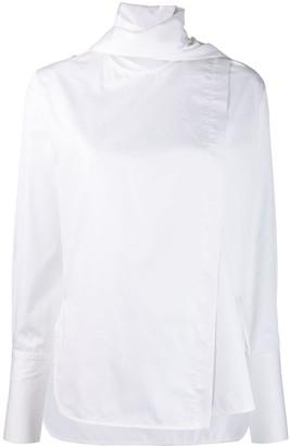 Eudon Choi Scarf Neck Shirt