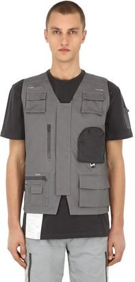 C2H4 Workwear Cotton Canvas Utility Vest