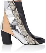 Proenza Schouler Women's Patchwork Leather Ankle Boots