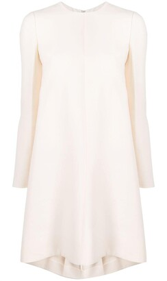 Valentino long-sleeved A-line dress