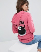 Stussy Lightweight Hoodie With 8 Ball Print