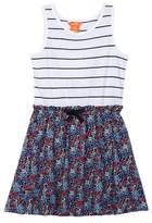 Joe Fresh Woven Mix Dress (Big Girls)