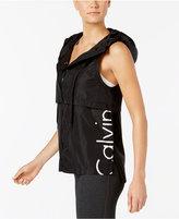 Calvin Klein Cut-Off Logo Vest