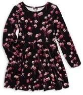 Ella Moss Girl's Floral A-Line Dress