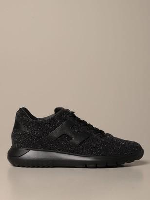 black glitter canvas shoes