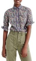 J.Crew Women's Club Collar Perfect Shirt
