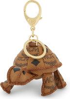 Mcm Tortoise Leather Bag Charm