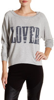 Haute Hippie Long Sleeve Lover Pullover