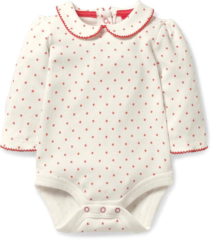 Boden Mini Peter Pan Collar Bodysuit
