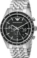 Emporio Armani Men's AR5988 Sportivo Analog Display Analog Quartz Silver Watch
