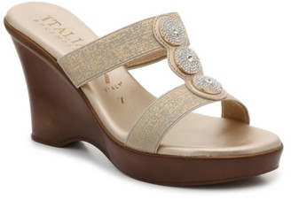 Italian Shoemakers Melony Wedge Sandal