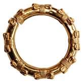 Chanel Baroque Gold Metal Bracelets